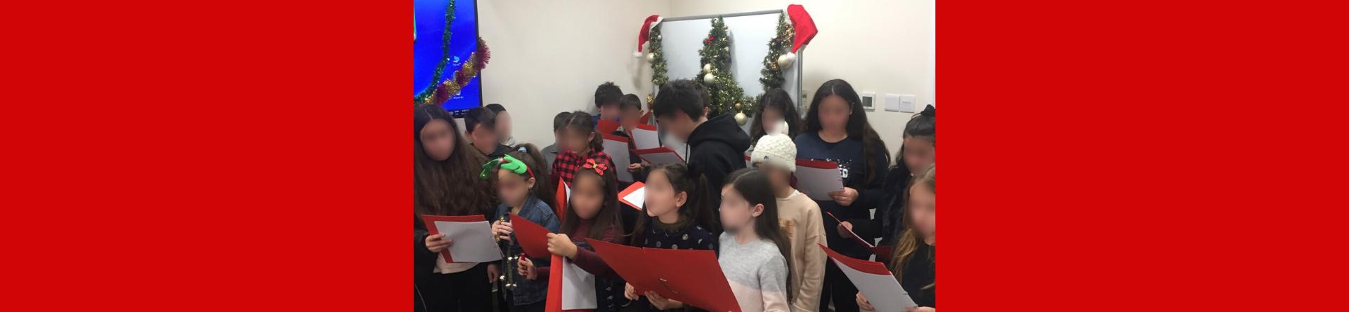 Χριστουγεννιάτικη γιορτή των μαθητών του ΚΕS School of Languages